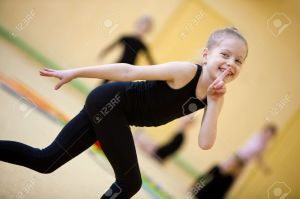 9387559-The-young-gymnast-Stock-Photo-gymnastics-dance-child